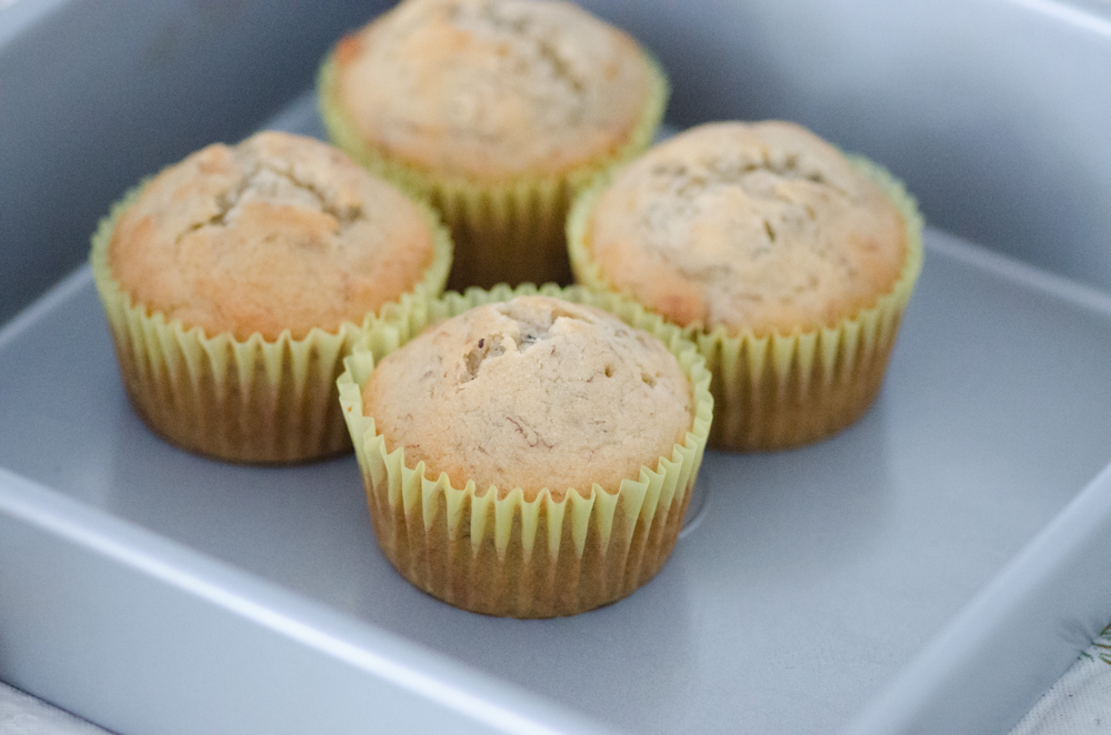 Walnut Banana Muffin