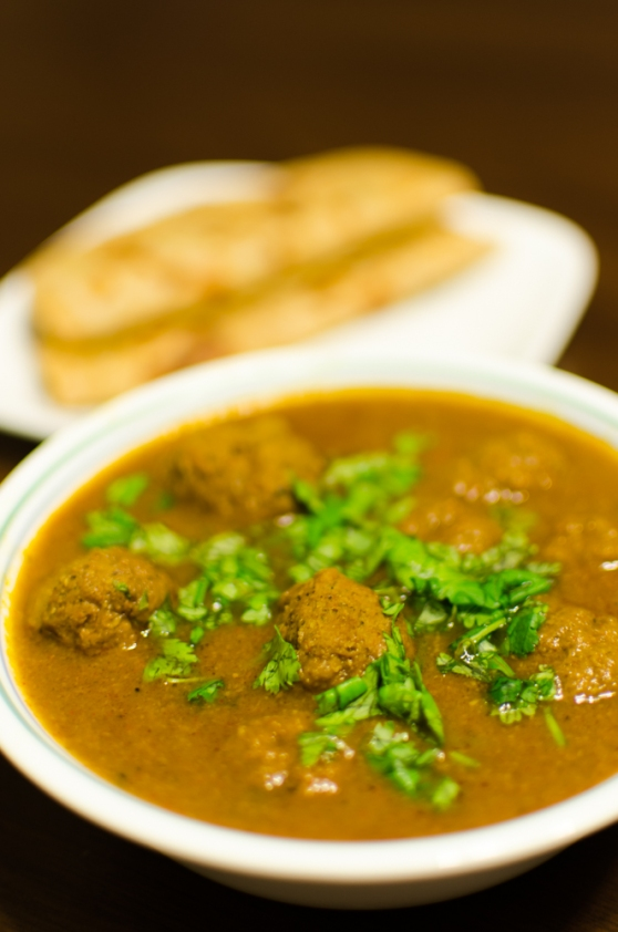 Kofta Curry.  Image Courtesy: Mujahid Khaleel