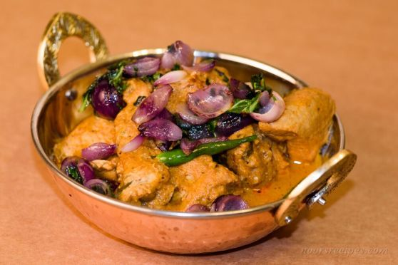 murgh do pyaaza - noorsrecipes