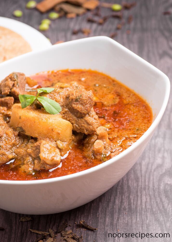 noorsrecipes - mutton curry