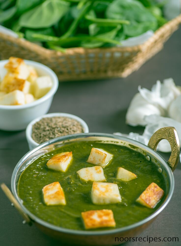 palak paneer noorsrecipes