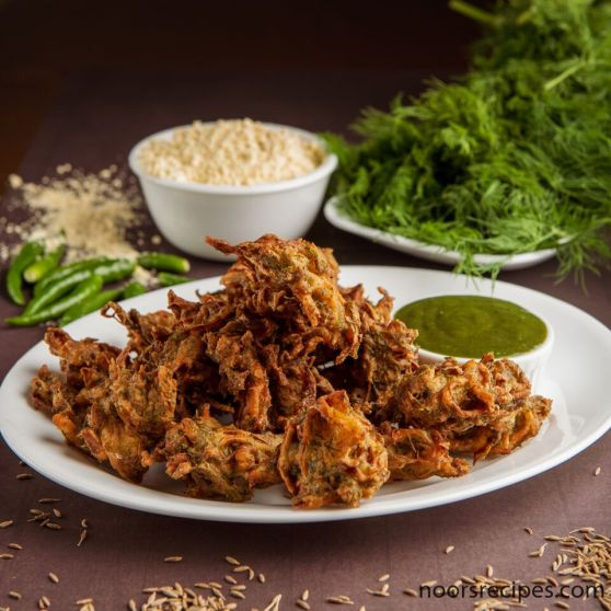 dill pakoda - noorsrecipes